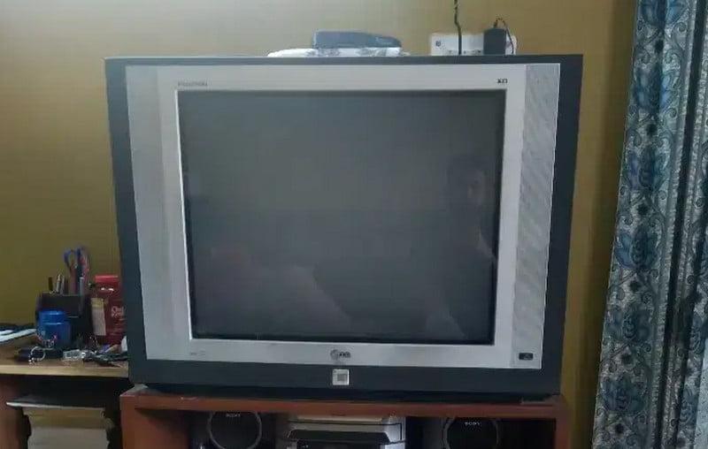 clean tube tv