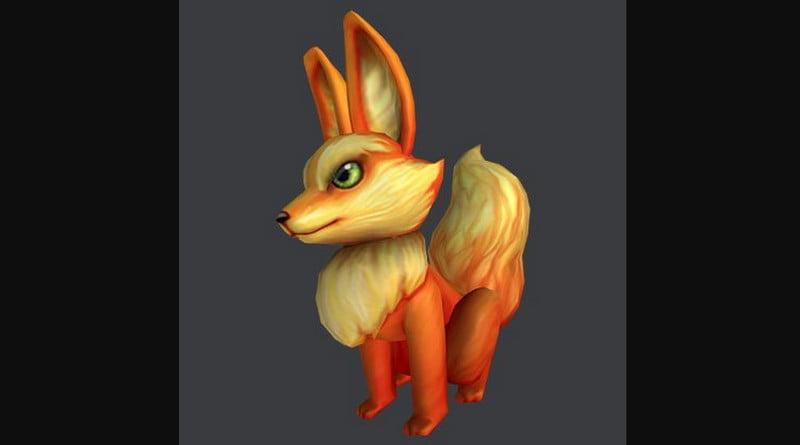 Fiery Fox Shoulder Pal