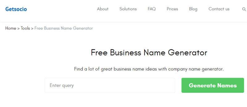 15 Free Business Name Generators In 2021   KeepTheTech
