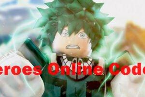 heroes online codes