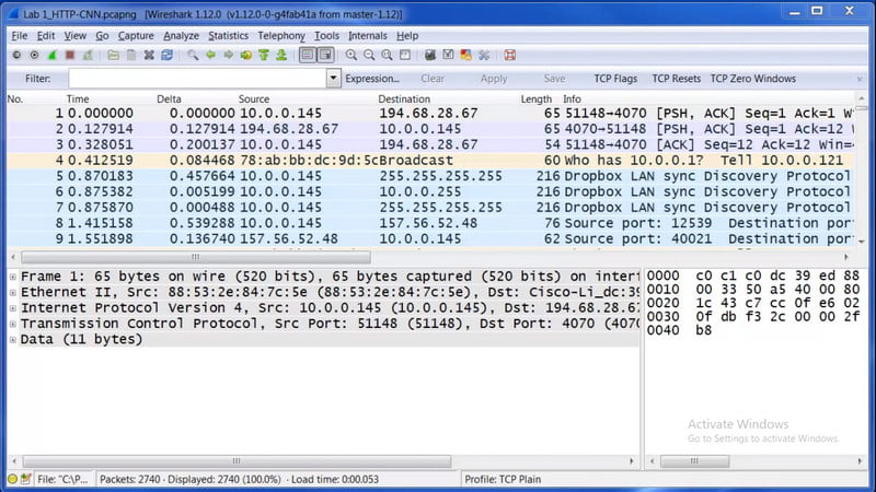 Wireshark Scanner