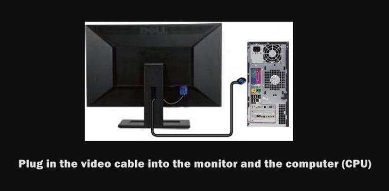 connect dual monitor to cpu