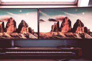 2 monitor wallpaper