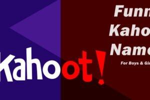 Funny Kahoot Names