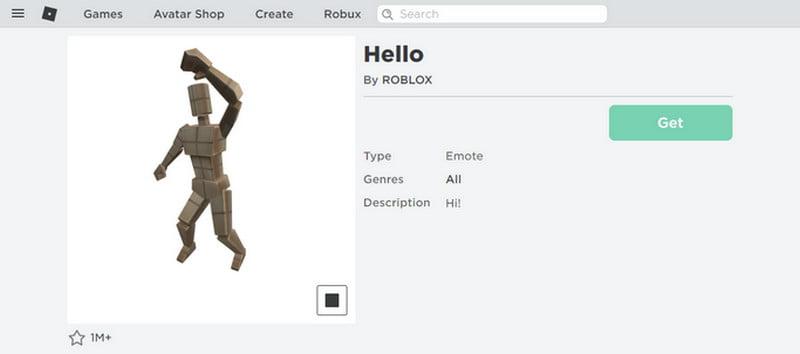 hello on roblox