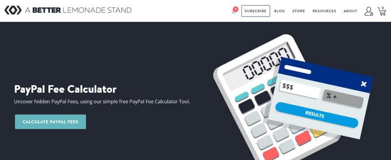 paypal calculator