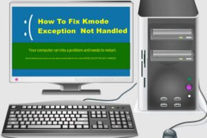Kmode Exception not Handled on Windows 10