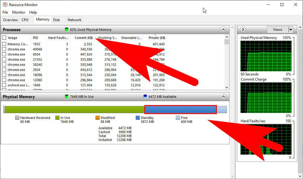 Windows Resource Monitor Tool