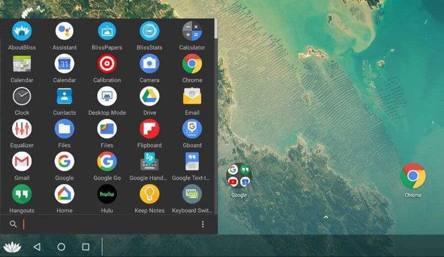 Bliss OS for Windows