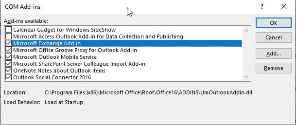 outlook add-ins