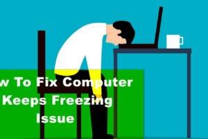 windows 10 keep freezing