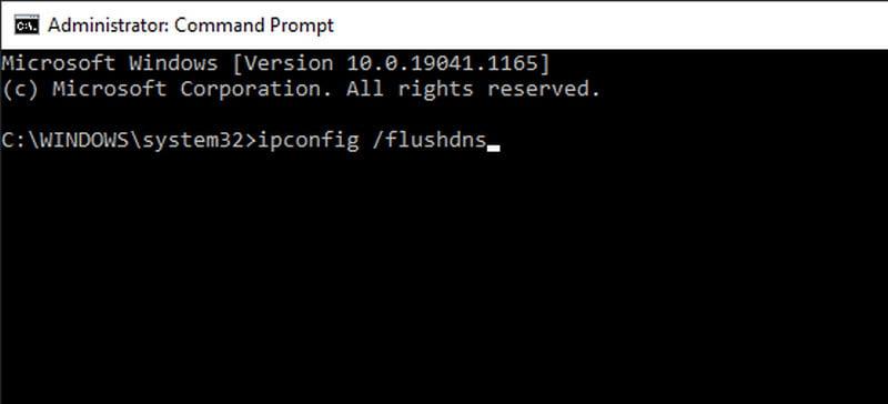 flush dns server