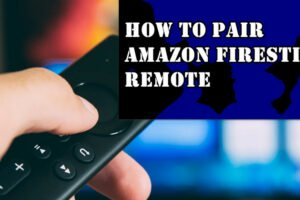 pair a firestick remote