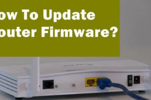 update router firmware