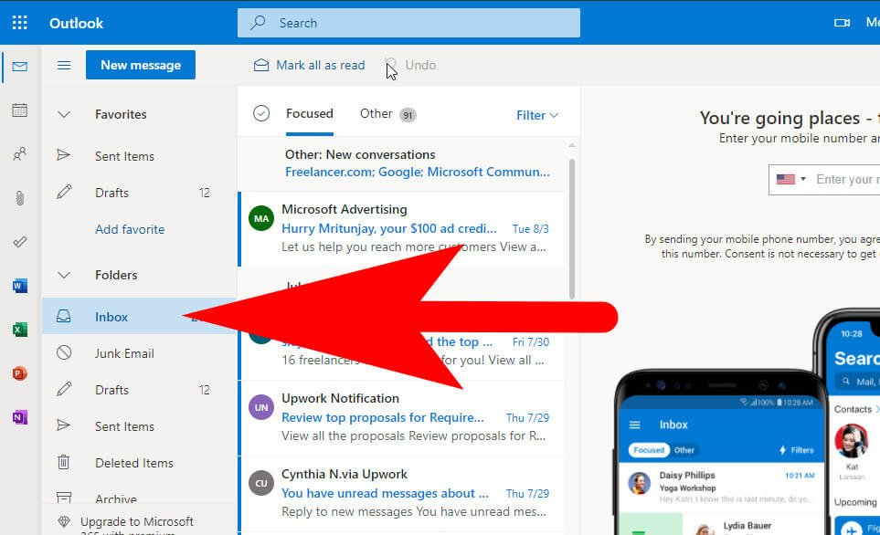archive email in outlook