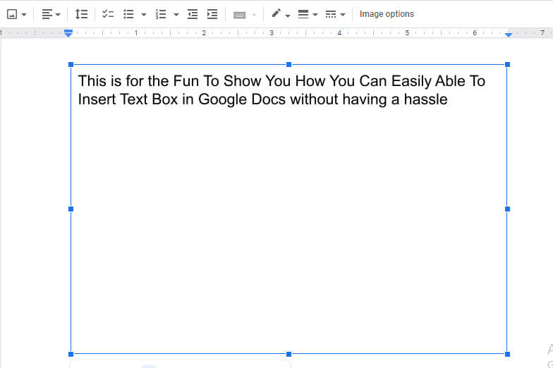 add shapes in google document