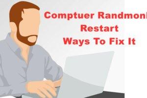 PC restarts randomly