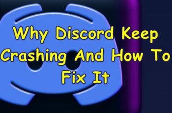 discord keep crashing