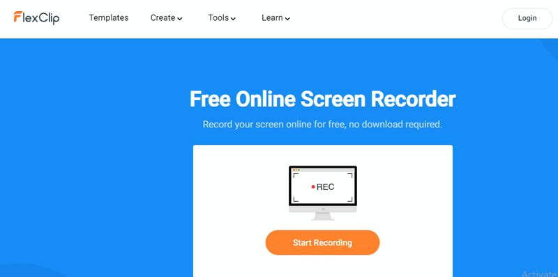 free online screen recording